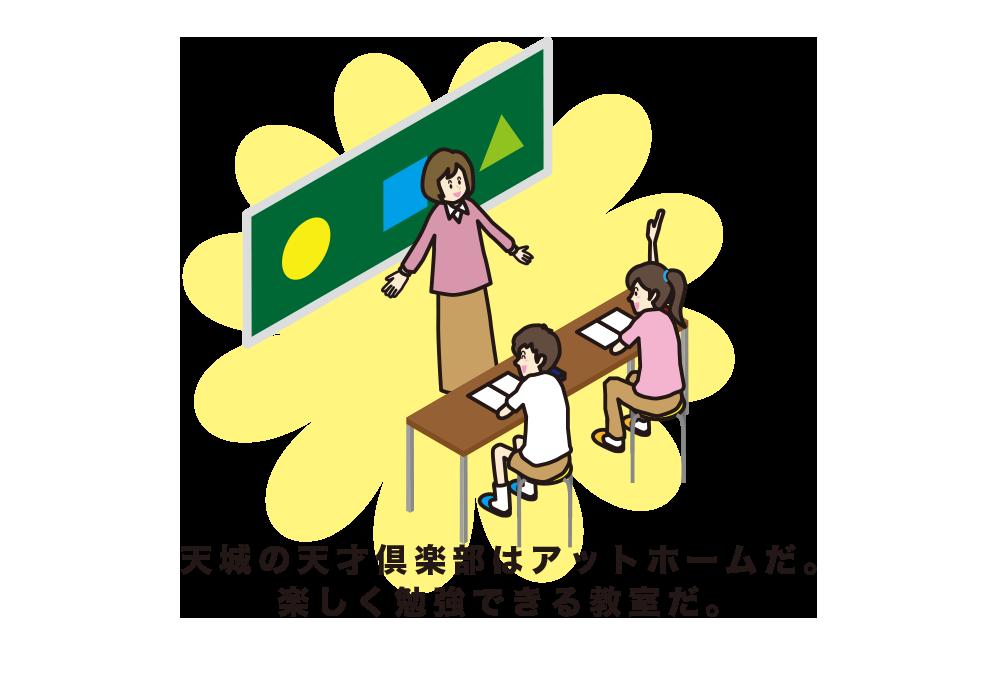 教室の雰囲気 イラスト